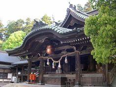 Shinto Shrine Takasaki Japan