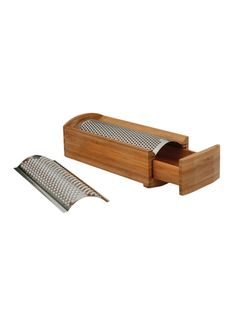 Enrico Wood Products Bamboo Cheese Grater