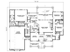 1661 square foot ranch | House Plans | Pinterest | Ranch house ...