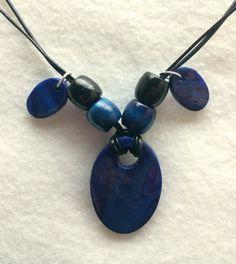 Metallic Swirls Polymer Clay Jewelry Set  by JillthePillDesign, $30.00