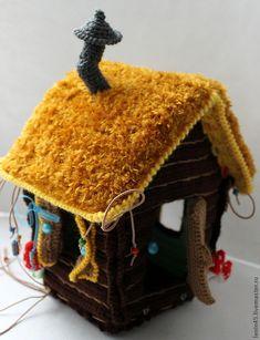 домик бабы яги избушка на курьих ногах вязанные - Поиск в Google