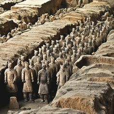 On this tour through China, you'll explore some of China's most famous sites and learn about its ancient and current Feng Shui, Places To Travel, Places To See, Terracotta Army, China Travel, China Trip, Famous Buildings, Great Wall Of China, Ancient Mysteries