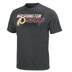 NFL Washington Redskins Control Clock Short Sleeve T-Shirt, Charcoal Heather by Majestic. $19.99. You can't control the clock, or the outcome of the game, but you can control your stadium style. Show the stadium loudly and proudly who your favorite NFL team is in this Control the Clock tee. Team wordmark and conference are vibrantly displayed across the front.