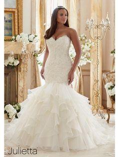 957e3ebf764 House of Brides - Julietta by Mori Lee Plus Size Wedding Gowns