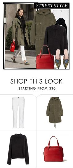"""mules"" by gifra ❤ liked on Polyvore featuring Garance Doré, Current/Elliott, Nili Lotan, H&M, TIBI and Alberta Ferretti"
