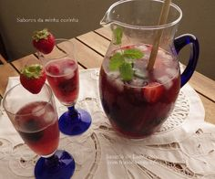 Cherry Brandy, Fingers Food, Happy Foods, Food Places, Healthy Drinks, Cinnamon Sticks, Raspberry, Alcoholic Drinks, Pudding