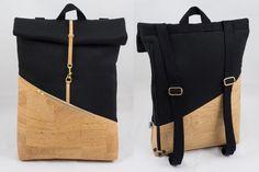 Der **sportlich elegante NOAS Rolltop Backpack** ist dein idealer Begleiter zum Büro, auf Reisen oder bei einer Shoppingtour in der Freizeit. Ein Rolltop Rucksack ist das Must Have der Saison....