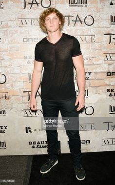 Internet Celebraty Logan Paul attends day one of TAO, Beauty & Essex, Avenue and Luchini LA Grand Opening on March 16, 2017 in Los Angeles, California.