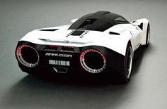 Super car with new nitro powered engine! Wtf