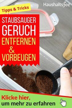 Kaffeepulver: Wirksame Maßnahmen gegen Staubsaugergeruch | Haushaltsfee.org