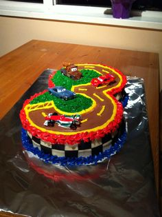 4 lightning mcqueen cakes - Google Search