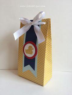 StampinUp! Something for Baby, Stanz- und Falzbrett Geschenktüte, Verpackung, zur Geburt