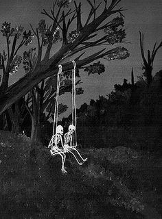 Discovered by nikkilangmusic. Find images and videos about love, Halloween and blackandwhite on We Heart It - the app to get lost in what you love. Photo Wall Collage, Picture Wall, Cute Wallpapers, Wallpaper Backgrounds, Skull Wallpaper, Wal Art, Arte Obscura, Skeleton Art, Theme Halloween