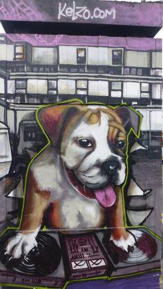 Kelzo.com Manchester Street Art
