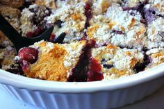 Looking for a sweet recipe that won't undo your whole day? How about my Weight Watchers Mixed Berry Cobbler Cake Recipe? It's easy to make and oh-so-yummy!
