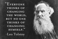Shortly after turning fifty, Leo Tolstoy succumbed to a profound spiritual crisis. Description from expandedconsciousness.com. I searched for this on bing.com/images