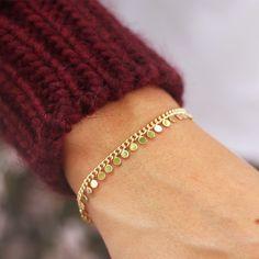 Coin Bracelet in Gold by one of my favourite brands: my Jewellery. Gold Jewelry, Jewelry Accessories, Fine Jewelry, Women Jewelry, Jewelry Making, Jewelry Logo, Cheap Jewelry, Pearl Jewelry, Diamond Jewelry