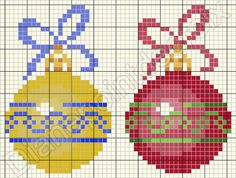 Point de croix *♥*Cross stitch Christmas: Christmas Charts, Cross Stitch Christmas Ornaments, Xmas Cross Stitch, Cross Stitch Cards, Beaded Cross Stitch, Christmas Embroidery, Christmas Cross, Cross Stitching, Cross Stitch Embroidery