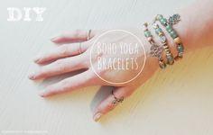 DIY BOHO YOGA BRACELETS