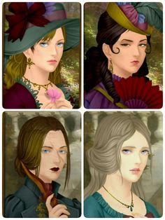 Rinmaru Games - Haunted Portrait Creator .    Make yours too ^.^