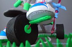 Detalle fofucha triciclo