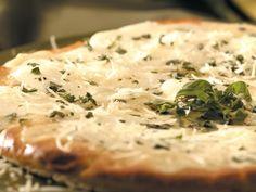 Receta de Pizza blanca