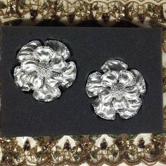 Curtains and Drapes Los Angeles: Large Nova drapery hardware holdback in Platinum silver with #swarovskicrystals #interiordesign #sparkles #homedecor #home #luxurylife #bling