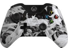 White Fire Xbox One Master Mod  $169.99 http://rapidfiregamer.com/white-fire-xbox-one-master-mod/  #moddedcontroller #mastermod #xboxonemoddedcontroller #customcontroller #evilcontroller