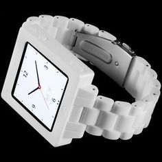 ICON Watch Band White now featured on Fab.