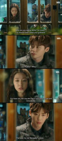 Korean Drama Free Girlfriend Level: Car Navigator Lee Jong-Suk & Park Shin-Hye in ' Pinocchio ' lol Episode Level: Car Navigator Lee Jong-Suk & Park Shin-Hye in ' Pinocchio ' lol Episode 8 Kaisoo, Chanbaek, Korean Drama Funny, Korean Drama Quotes, Live Action, So Ji Sub, Moorim School, Korean Shows, Jung Suk