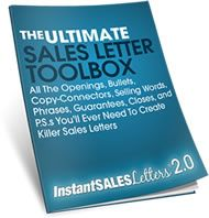 Instant Sales Letters - instantsalesletters.com - maybe, if you have a product and extra cash to try this