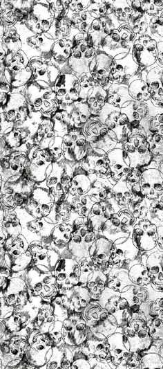 Wall Paper Dark Skull Iphone Wallpapers 16 Ideas For 2019 Skull Wallpaper, Wallpaper Backgrounds, Iphone Wallpapers, Skull Tatto, Graffiti, Desenho Tattoo, Illustration, Skull Design, Skull And Bones