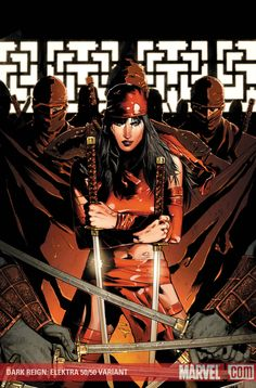 DARK REIGN: ELEKTRA #1 (of 5) Written by ZEB WELLS Pencils by CLAY MANN Cover by LEE BERMEJO 50/50 Variant Cover by CLAY MANN