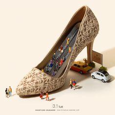 Escalation-heeled