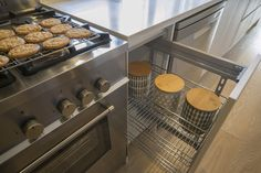 Wire racks for kitchen drawers