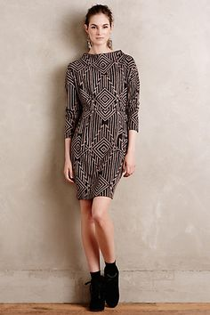Sale- Bera Mockneck Dress regular small or medium petite  #anthropologie