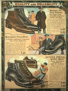 1921 men's dress and work boots