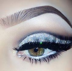 Glittery and pretty!:)