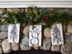 Don't spend a lot on holiday decor. DIY Network has a variety of clever projects made for very little money using repurposed items.