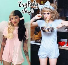 Welcome to Cry Baby Closet, the first and best source for Melanie Martinez's style. Melanie Martinez Outfits, Melanie Martinez Style, Crybaby Melanie Martinez, Melanie Martinez Halloween Costume, School Outfits Tumblr, Girl Swag, Cry Baby, Kawaii Fashion, Diy Clothing