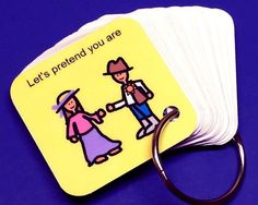 Let's Pretend - ABA Keyring Activity - Autism Therapy