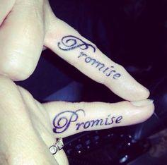 #promise #couple#tattoo