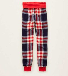 Aerie Flannel Jogger - Buy One Get One 50% Off