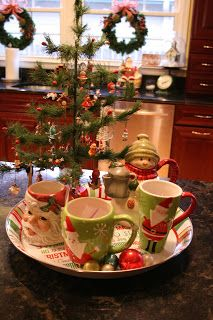 Priscillas: Christmas kitchen