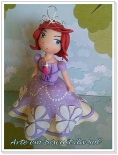 Princesa Sofia Topo de Bolo. Orçamento: solangecometti@terra.com.br