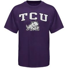 TCU Horned Frogs New Agenda Arch Over Logo T-Shirt - Purple - $14.99
