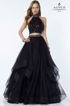 9c9d0448 13 Best Halter Top Prom Dresses images | Ball gowns, Halter top prom ...