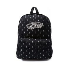 bc014ed256 Shop for Vans Realm Lightning Bolt Backpack in Black at Journeys Shoes.  Shop today for