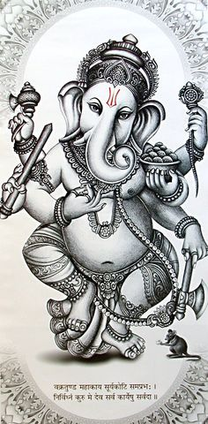 yogibe — Ganesha, remover of obstacles