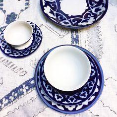 cool Uzbek pottery a set of n. 5 items